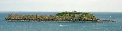 île et fort des Rimains, Cancale