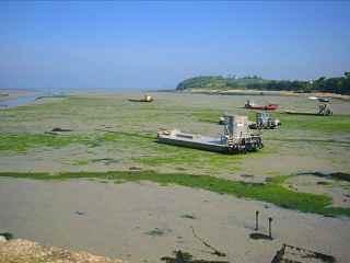 marée basse à Paimpol
