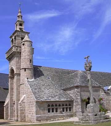 clocher et calvaire de Ploulec'h