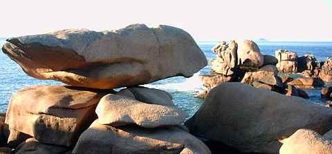 les rochers roses de Ploumanach