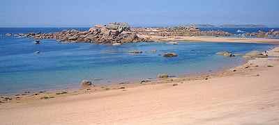 plage de Trégastel